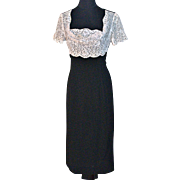 EISENBERG ORIGINAL 1930s Rhinestone-Studded Dress