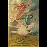 SOLD Embossed PFB Ten Commandment Postcard - 1 of 10