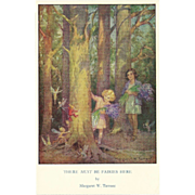 SOLD Vintage Postcard by Margaret Tarrant of Fairies - Medici Society