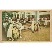 Advertising Postcard of Kellogg's Packing Plant