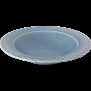 SOLD Vernon Kilns Native California Blue 9 inch Round Vegetable Bowl
