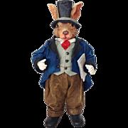 SOLD Possible Dreams Clothtique  #713401 Londonshire Sir Robert Rabbit