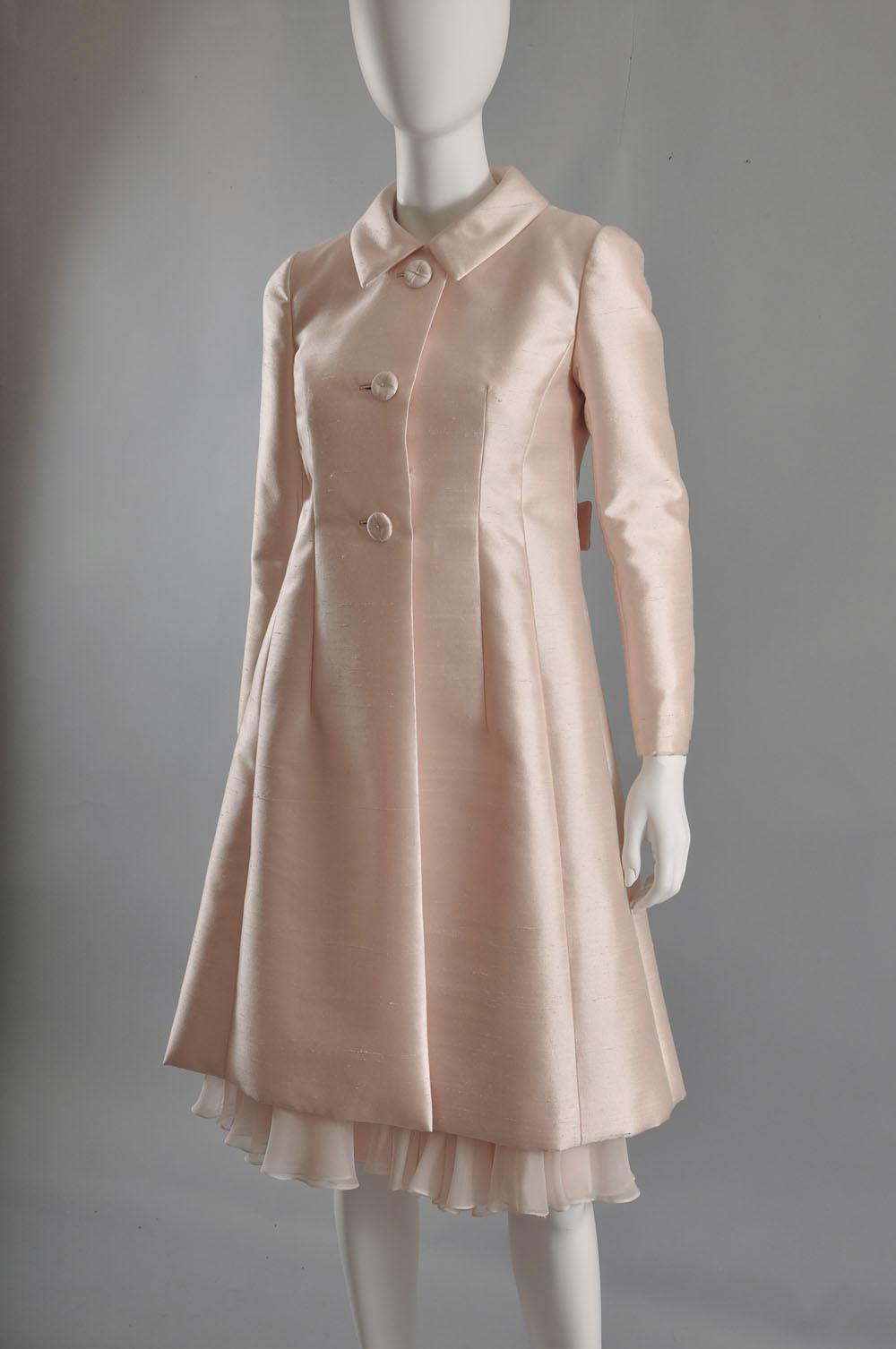 949bbabdff9 Silk Dress Coat