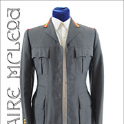 SALE Vintage c1950s Moss Bros Covent Garden Uniform Jacket RAF? * Sm