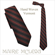 Stripes - Vermont Homespun Men's Tie 1950's -  2-3/4""