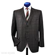 SALE 1960's Hart Schaffner Marx Cotton Plaid Sport Coat - 44-45