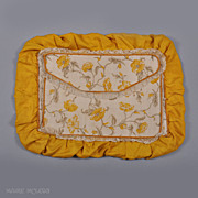 SALE c 1920s Silk Lingerie Case Folder