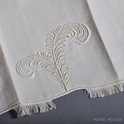 """Marghab """"Plume"""" Vintage Fingertip Towel NOS - 1 of 4"""