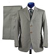 Vintage Marzotto 2 pc 3 button 1950s Suit - 40