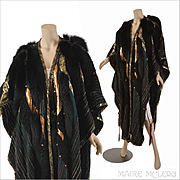 1980's Coat // DRAMATIC Kip Kirkendall 80's Artwear Cloak/Coat