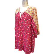 Vintage 1970s Giorgio Sant Angelo Tunic minidress
