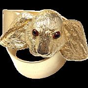 Mimi di N large Rabbit gold tone belt
