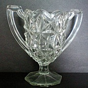 Two Handled Glass Spoon Holder