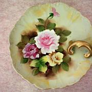 German Porcelain Lemon Dish or Nappy