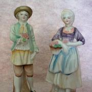 Occupied Japan Bisque Porcelain Figurines c. 1945 – 1952