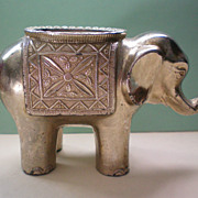 SALE Elephant Incense Burner or Candle Holder