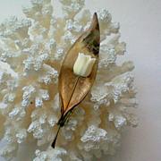 SALE Gold Filled Winard Tulip Pin