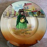 Royal Doulton Sairey Gamp Character Plate
