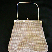 SALE Beaded Bag / Purse Made in USA - Patented by Lumared