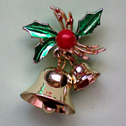 SALE Jingle Bells Holiday / Christmas Pin