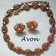 "SALE Avon Designer ""Precious Pretenders"" Necklace & Earrings"