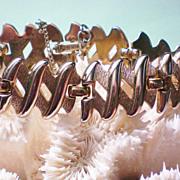 SALE Monet Gold tone Link Bracelet