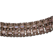 Glitzy Dazzling Rhinestone Choker Necklace