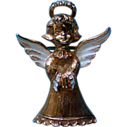 SALE Vintage Gerry's Christmas Angel Pin