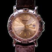 Man's Wrangler Analog Quartz Watch with Date Window