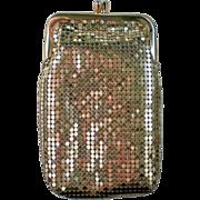 Whiting & Davis Gold Metal Mesh Evening Bag or Cigarette Case