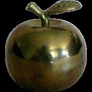 SALE Brass Apple Bell for the Teacher