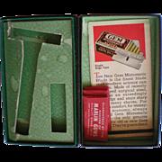 SALE New GEM Micromatic Razor Box with Original Inserts