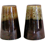 Hull Drip Ware Salt and Pepper Shakers