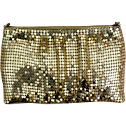 Y&S Original Gold Metal Mesh Evening Bag / Purse