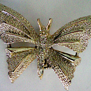 SALE Butterfly with Rhinestone Accents by Gerry's