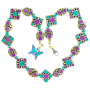 Essential Nepal Necklace with Nacozari Turquoise