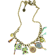 Chimayo Hand-Patinaed Charm Necklace