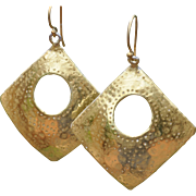 SOLD Mod Squad Gold Earrings