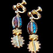 24K Gold Vermeil Bali Earrings