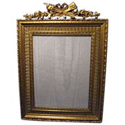 SALE Antique French Dore Bronze Picture Photo Frame, Best Quality, Great Casting
