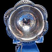 Antique Tiffany & Co. Sterling Tea Strainer NR 1902-1907