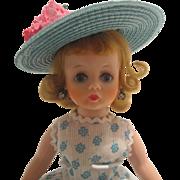 Vintage 1950's Madame Alexander Cissette Ultra Rare Mystery High Color Blonde