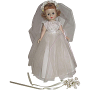 Madame Alexander Cissette Bride Doll #980 - 1957