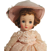 REDUCED Madame Alexander ELISE Gorgeous Pink Beauty #1718 - 1958 MINTY MINT