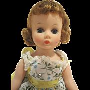 Madame Alexander Auburn Cissette Variation Polished Cotton  Dress - Excellent Condition