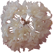 Large Bouquet of Wax Flowers