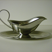 Royal Dolphin Stainless Steel  Gravy Boat