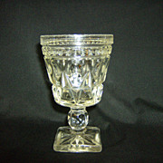 Indiana Glass ~ Wine Glass ~ Park Lane Pattern
