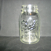 Ball Canning Jar ~ Perfect Mason Quart ~ 1933 - 1960