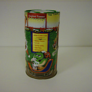 """M&M's Collector Tin ~ Christmas Village Series ~  """" The Flying Class"""""""